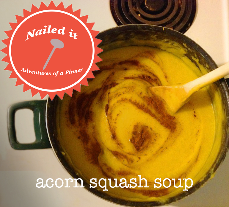 Acorn Squash Soup by Adventures of a Pinner Blog