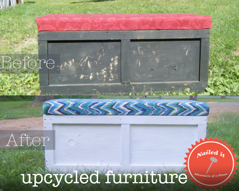 Upcycled Furniture by Adventures of a Pinner Blog