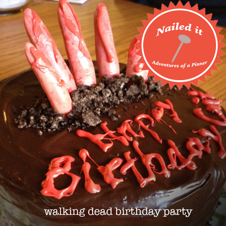 the walking dead birthday party by Adventures of a Pinner Blog