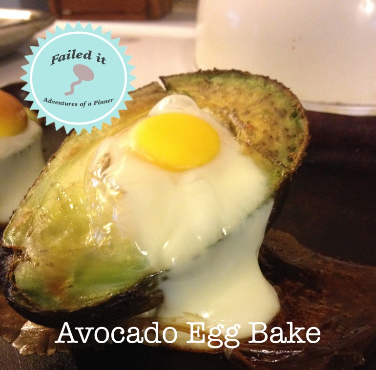 Easy Breakfast Idea Avocado Egg Bake by Adventures of a Pinner Blog