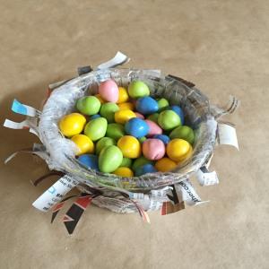 bird nest candy dish