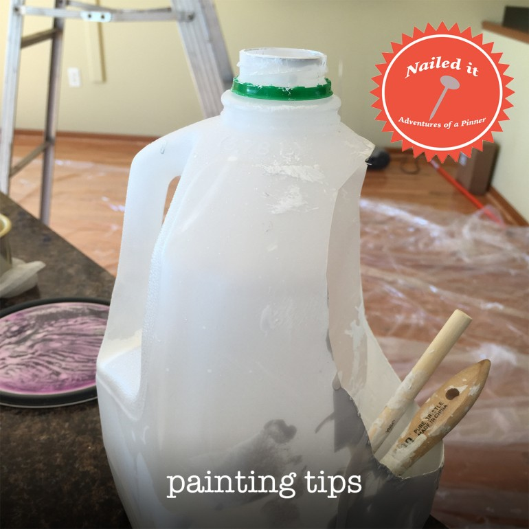 Painting Tips by Adventures of a Pinner Blog