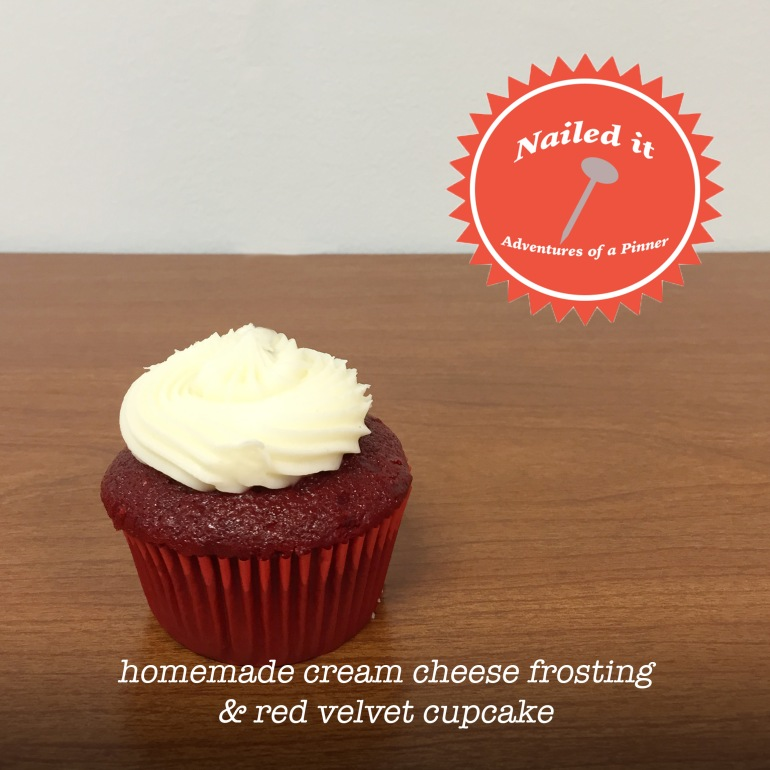 Homemade Cream Cheese Frosting & Red Velvet Cupcakes by Adventures of a Pinner Blog